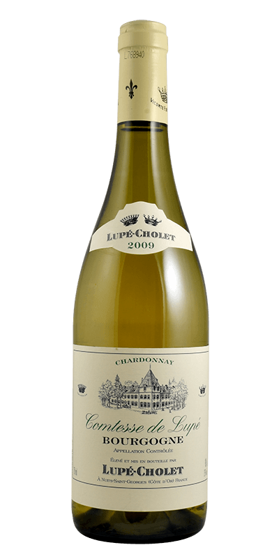 Bourgogne Chardonnay A.C. Comtesse de Lupe, Lupe-Cholet