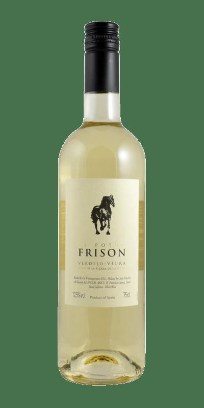 El Potro Frison, VEGAN, Verdejo Viura Blanco