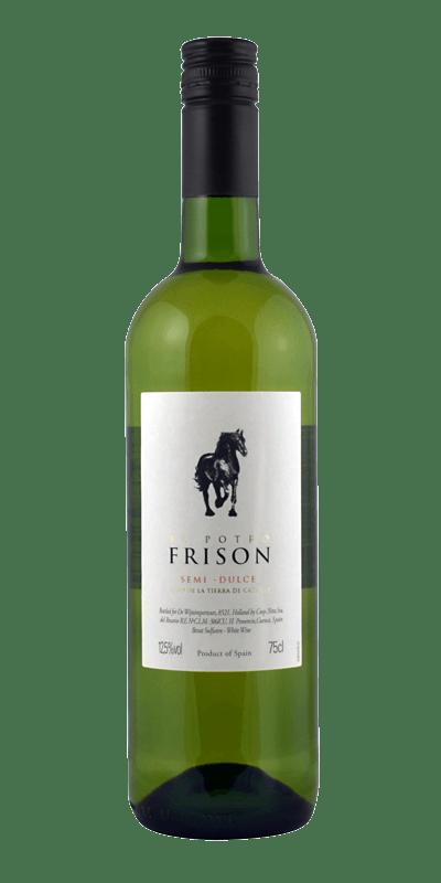 El Potro Frison, VEGAN, Verdejo Viura Blanco Semi Dulce