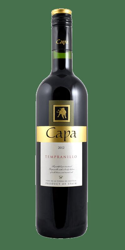 Capa Tempranillo, Vino de la Tierra de Castilla