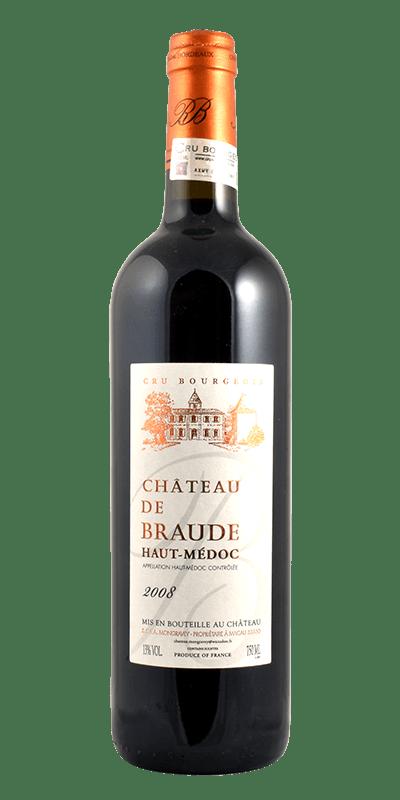 Chateau de Braude, Haut Medoc A.C. Cru Bourgeois