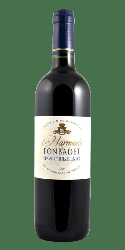 l' Harmonie de Fonbadet Grand Vin de Bordeaux