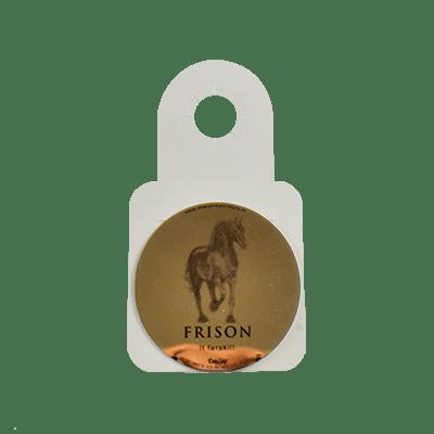 Frison dropstops in neckhanger
