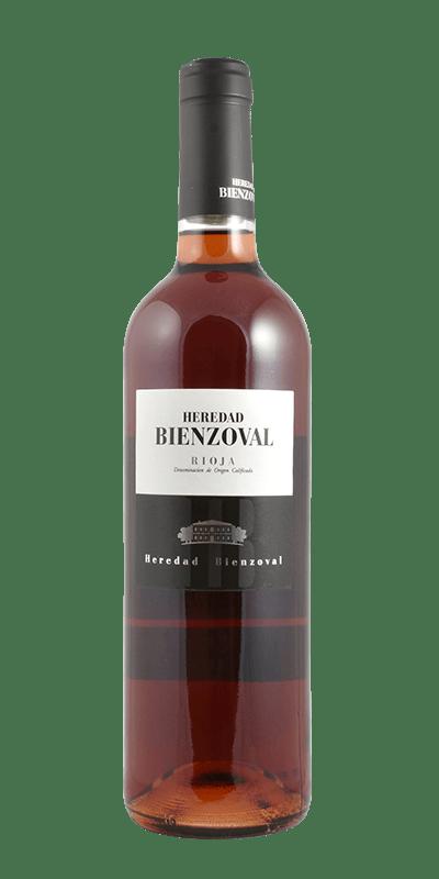 Vino Rosado Heredad Bienzoval (La Rioja)