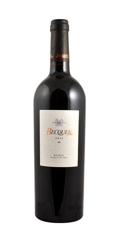 Vino Tinto de Autor Becquer (La Rioja)