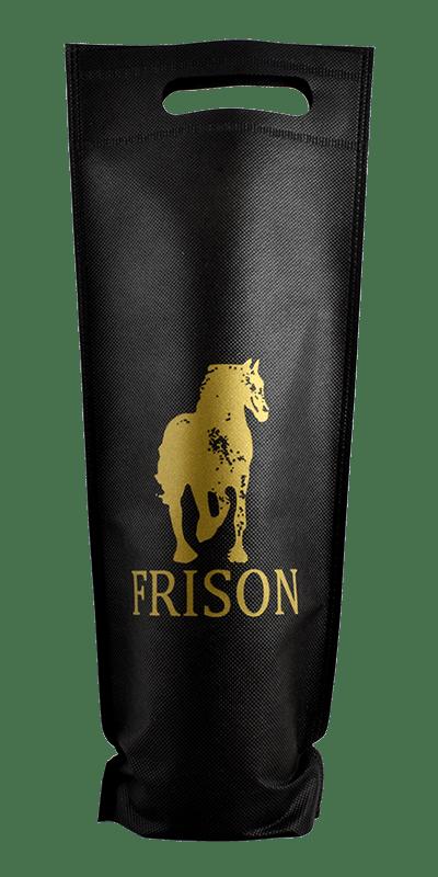 Wijntas Frison voor 1 fles, non woven