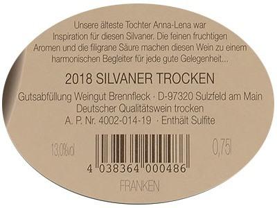 Anna Lena - Silvaner Kabinett Trocken