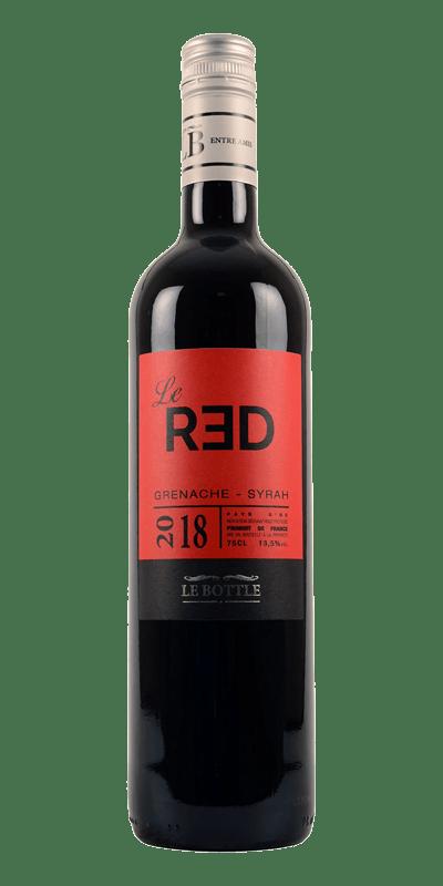 LE RED - Vin de Pays d'Oc