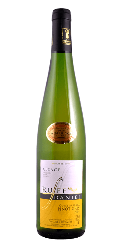 Pinot Gris Alsace A.C. Cuvee Barbara